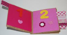 Valentine's Day Paper Bag Counting Book Craft for Kids (preschool or kindergarten)