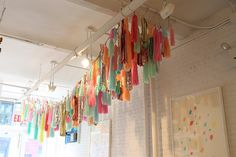 Check out these beautiful tassle garlands by Confetti System. x Georgia [Images courtesy of Confetti System and Hello Sandwich] Tassle Garland, Tassels, Hanging Garland, Party Garland, Tassles Diy, Party Streamers, Diy Tassel, Confetti System, Table Design