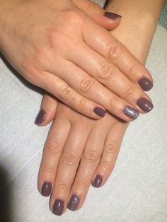 Gelaze + Gelish manicure.