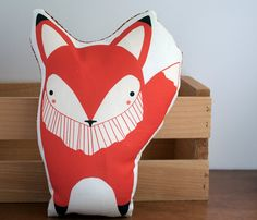Fox pillow! @Angie Hollister all you :)