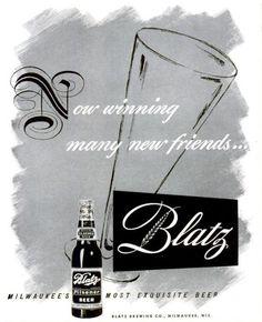 Blatz beer ad, LIFE, April 20, 1942