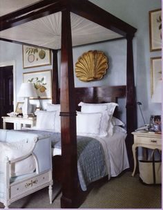 Bunny Williams and John Rosselli's vacation home La Colina in the Dominican Republic, via Town and Country