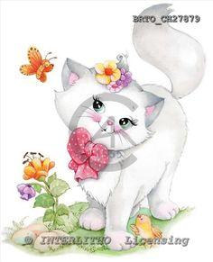 Alfredo, CUTE ANIMALS, paintings, BRTOCH27879,#ac# illustrations, pinturas