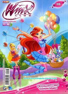 ¡¡Nueva revista Winx Club Nº113 ya a la venta en Italia!! http://poderdewinxclub.blogspot.com.ar/2013/08/comic-costumi-magici-regalo-muneca.html
