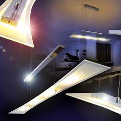 LED Hängeleuchte Pendelleuchte Esszimmer Hängelampe Pendellampe mit Dimmer in…