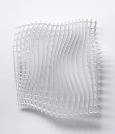 Dutch Product Design student in Amsterdam. Wall Sculptures, Sculpture Art, Acoustic Wall, Arch Model, Parametric Design, Contemporary Sculpture, White Texture, Facade Design, Textiles