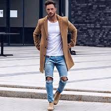 34 comfy winter fashion outfits for men in 2018 men's fashio Mens Fashion Blazer, Mens Boots Fashion, Fashion Fashion, Rock Fashion, Fashion Black, Street Fashion, Fashion Ideas, Autumn Fashion, Vintage Fashion