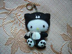 Hello Kitty Gatinho/ porta chaves VENDIDA | Flickr - Photo Sharing!