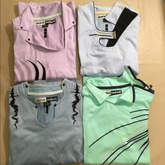NEW Set of 4 Jamie Sadock Size S Cotton Sport Tops New.  Set of 4 - 100% cotton sport golf tanks by Jamie Sadock. Retail is $89 each.  Uniquely design and comfortable. Jamie Sadock Tops Tank Tops