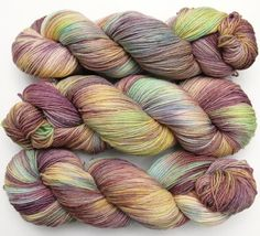Jackalope hand dyed sock yarn...  lightbrownhare on Etsy