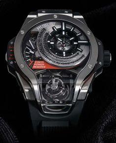 La Cote des Montres : la montre Hublot MP-09 Tourbillon Bi-Axis - L'expertise horlogère et la créativité de Hublot ne connaissent pas de limite