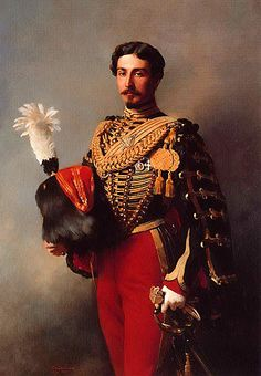 Franz Xaver Winterhalter. Edouard Andre in the Uniform of the Guides de la Garde Imperiale 1857