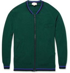 Band of Outsiders Zipped Cardigan | MR PORTER
