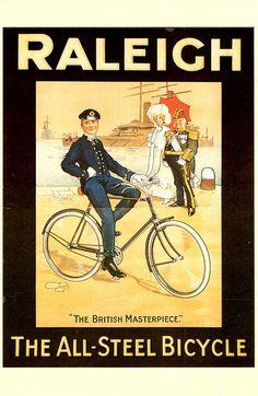 vintage ad. Raleich