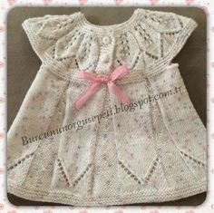 Burcunun Örgü Sepeti: bebek elbisesi yapıyoruz [] # # #Crochet #Fashion, # #Baby #Knitting, # #Knit #Patterns, # #Woven #Chambritas, # #Bijou, # #Knitting, # #Cute #Babies, # #Tissues #Drink, # #Easy