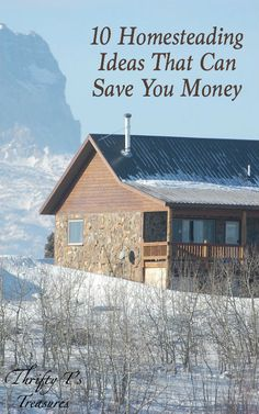We can learn a lot from homesteaders. You're going to love these 10 homesteading ideas that can save you money! Hands down, #4 is my favorite!