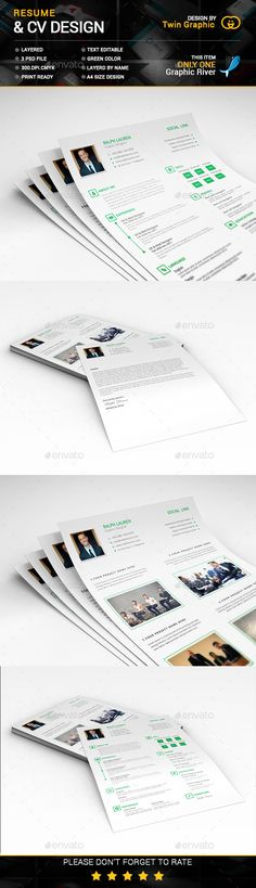 This is CV Resume Design Design resume, Simple resume template - is a cv a resume