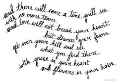 Music for the soul....mumford and sons