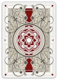 Custom playing cards, poker size.