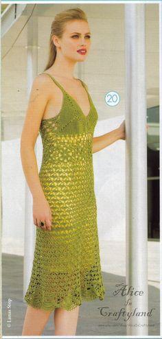 Cochet Pattern Lace Summer Dress High Quality door AliceInCraftyland, $1.90