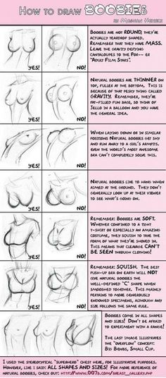 How to draw woman features