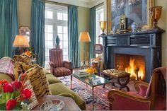 cozy elegant living rooms on pinterest english interior cote de