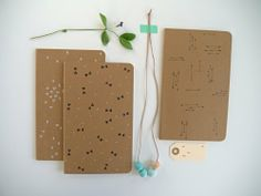 DIY notebooks / la maison de loulou