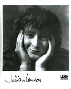 Julian Lennon, what a cutie! Julian Lennon, Rock Artists, Jimmy Page, The Beatles, Liverpool, Singers, Sons, Kittens, Music