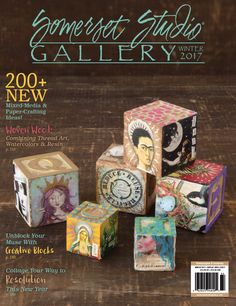 200+ New mixed-media and paper-crafting ideas, including tutorials for unblocking your muse, collaging your way to resolution this New Year, and combining thread art, watercolors, and resin, inside ...
