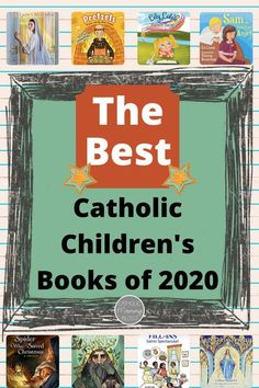 I love this list of Catholic Children's books, with reviews, that were published in 2020! Find some new favorites for the Catholic child/ children kids in your life! #catholicbooksreadinglists… More