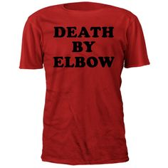 Death By Elbow - Red