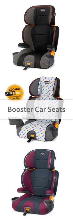 When your child is ready for a booster car seat, you want a seat that's safe, secure, and easy to install. Chicco's booster seats offer all that, plus comfort, adaptability, easy cleaning, and a few fun and stylish options!