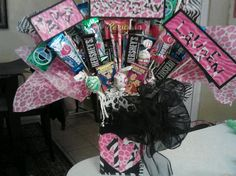 Birthday candy bouquet..