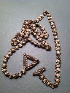 Cool seed bead wrap bracelet. Beth Stone