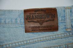 Edwin Jeans Newton Slim Mens Jeans W 36 L 32 Stone Washed High Waist Vintage