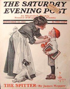 1913-09-20LG 1st Day of School - J.C. Leyendecker.jpg 1,028×1,314 pixels
