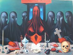 Paintings by French Surrealist painter, Felix Labisse . I've always been a huge fan of surrealism, mainly for its strangeness, an. Magritte, Illustrations, Illustration Art, Visual Map, Goth Kids, Occult Books, Sang, Drawing, Dark Art
