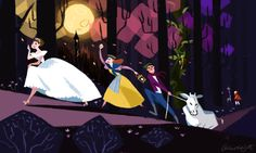 Into The Woods by PhLightAttendant I just love this musical so much!! Makes me smile every time I watch it.