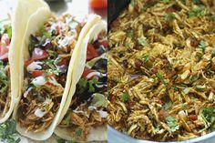 Pinterest is dé allerbeste app/website om inspiratie op te doen. Wij houden weleens graag een Mexican night en vonden het allerbeste tacorecept. Taco Time, Tacos, Website, Ethnic Recipes, Food, Essen, Meals, Yemek, Eten