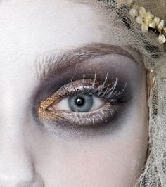 The eye of a FrozenUkrainian Bride /John Galliano 2009 show