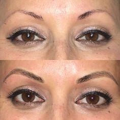 Permanent makeup by me www.makeupbymandie.com #microblading #microblade