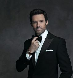 """205k Likes, 2,821 Comments - Hugh Jackman (@thehughjackman) on Instagram: """"Outtake from @montblanc campaign shoot. #TIMELESS #ad"""""""