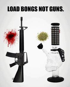 Load bongs not guns | Anonymous ART of Revolution