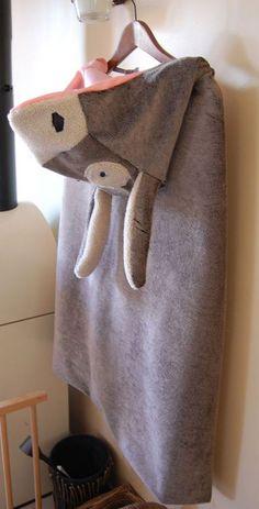 Peau d'âne déguisement enfant, Patron couture gratuit