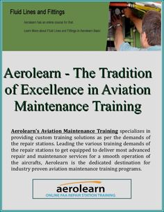 Aerolearn - The Tradition of Excellence in Aviation Maintenance Training Lead Generation, Online Courses, Aviation, Training, Traditional, Air Ride, Education, Exercise, Aircraft
