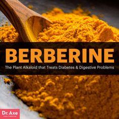 Berberine Treats Diabetes & Digestive Problems - Dr. Axe