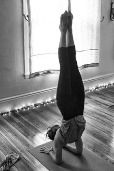 Pinca Mayurasana. I really love this pose.