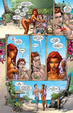 Red Hood and the Outlaws (or: where I mostly rant about how they screwed up Starfire) Starfire Comics, Robin Starfire, Nightwing And Starfire, Dc Comics Art, Comics Girls, Marvel Dc Comics, Marvel Memes, Comic Books Art, Comic Art