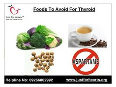 Top 5 foods not to eat for thyroid