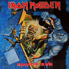 Iron Maiden - No Prayer for the Dying - 1990 Album Cover